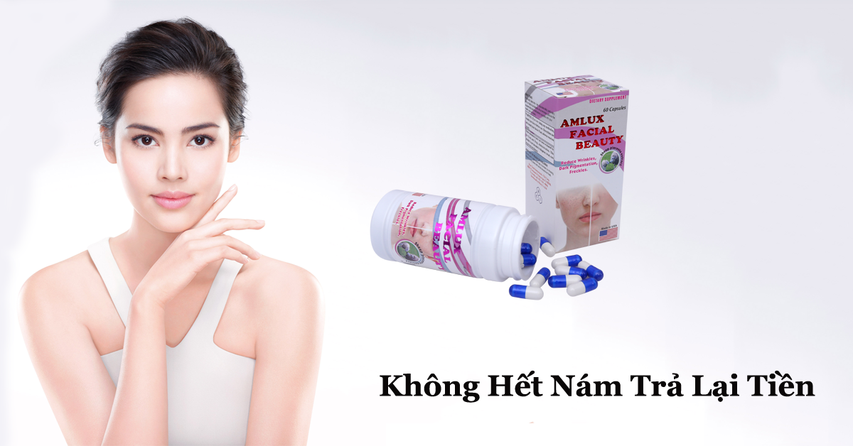 Trị Nám Da Amlux  Facial Beauty